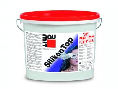 Baumit SilikonTop (25 кг) - Декоративная силиконовая штукатурка для внутренних и наружных работ