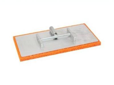 Алюминиевая шарнирная тёрка с резиновой губкой 200х400 мм для нанесения мокрых штукатурок
