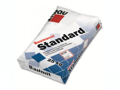 Baumit Baumacol Standard (25 кг) - Морозостойкий клей, для укладки керамической плитки и керамогранита