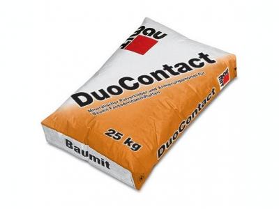Baumit DuoContact (25 кг) - Клей для приклеивания утеплителя (пенополистирола) и нанесения армирующего слоя