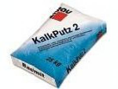 Baumit KalkPutz 2 mm (25 кг) - Известковая штукатурка крупнозернистая, 2мм