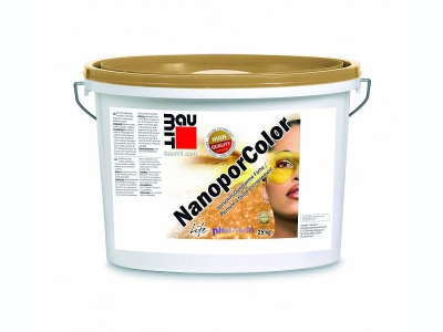Baumit NanoporColor (25 кг) - Нано-краска с эффектом самоочищения