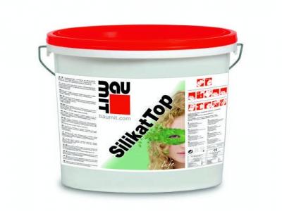 Baumit SilikatTop (25 кг) - Декоративная силикатная штукатурка для внутренних и наружних работ