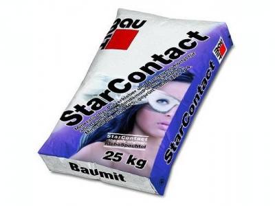 Baumit StarContact (25 кг) - Клей для приклеивания и армирования утеплителя