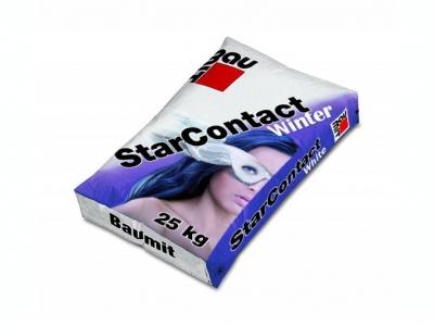 Baumit StarContact Winter (25 кг) - Клей для приклеивания и армирования утеплителя зимний