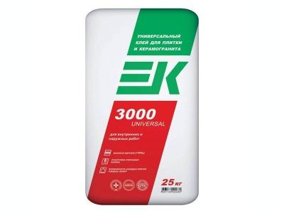 EK 3000 UNIVERSAL универсальный клей для плитки и керамогранита