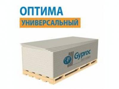 Gyproc Оптима Лонг - Гипсокартон универсальный