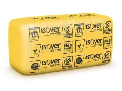 Isover Каркас-П34 - Ненагружаемая тепло- и звукоизоляция для каркасного домостроения и слоистых кладок