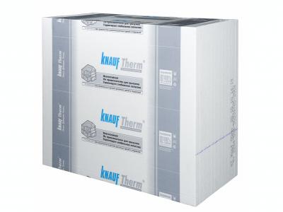 Кнауф Терм Кровля - теплоизоляционные влагостойкие плиты повышенной прочности для утепления кровли