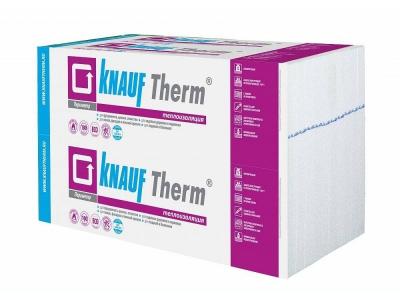 Кнауф Терм Периметр - инновационные формованные плиты повышенной прочности для теплоизоляции стен, фундаментов зданий и утепления полов