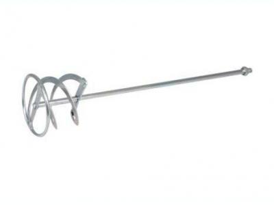Мешалка для растворов «двойная спираль» диаметр 120мм/ длина 600мм/посадка М14 оцинк.сталь