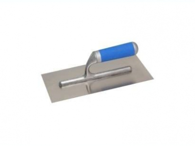 Нержавеющая тёрка 130x270 мм, гладкая 130Х270 мм, ручка G-3 пластиковая двухкомпонентная круглая