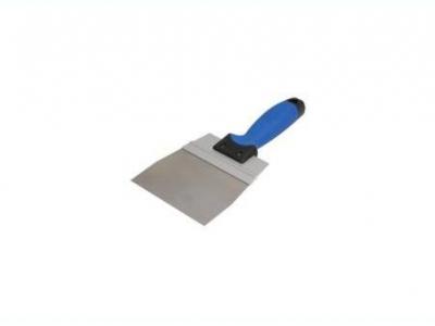 Нержавеющий фасадный шпатель 350 мм , усиленный AL профилем ручка G-15 двухкомпонентная