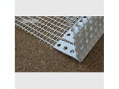 Профиль арочный складной ПВХ с сеткой 10х15 см, 2,5 м.п.