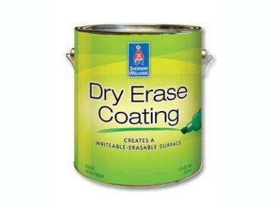 """Sherwin Williams Dry Erase - Покрытие """"маркерная доска"""""""