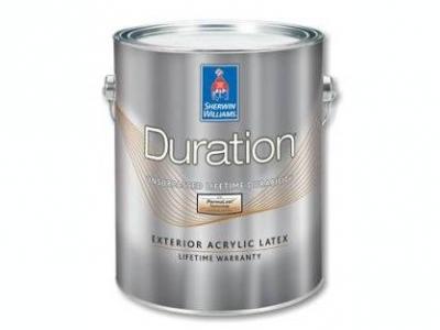 Sherwin Williams Duration Exterior Acrylic Latex Coating- Акриловая краска на водной основе для внешних (фасадных) работ