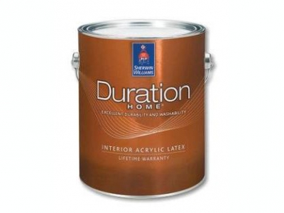 Sherwin Williams Duration Home Interior Latex Matte - Американская краска для стен и потолков