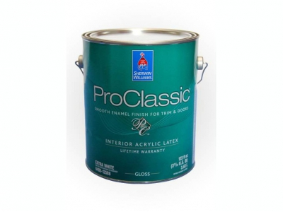 Sherwin Williams ProClassic Waterborne Interior Acrylic Enamel - Акриловая эмаль на водной основе