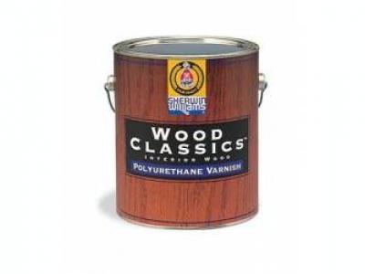 Sherwin Williams Wood Classics Waterborne Polyurethane Varnish - Ультра-прозрачный лак