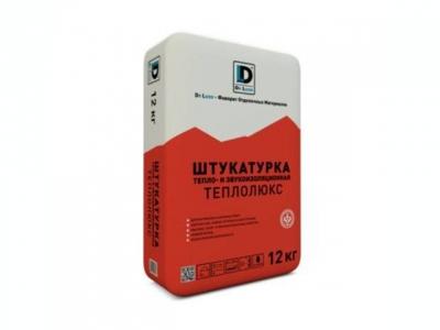Тепло -и звукоизоляционная штукатурка  Теплолюкс  De Luxe (12 кг)