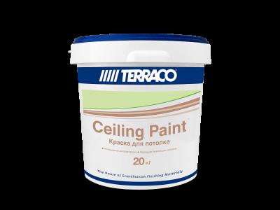 Terraco Celling Paint - Матовая краска для потолков
