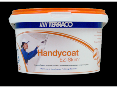 Terraco Handycoat EZ-Skim - Специально разработанная готовая к применению шпатлевка легкого затирания