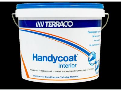 Terraco Handycoat Interior - Универсальная готовая шпатлевка для внутренних работ
