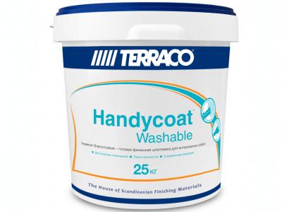 Тerraco Handycoat Washable (25 кг) - Внутренняя влагостойкая шпатлёвка