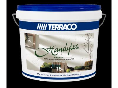 Terraco Handytex - Текстурная основа для последующего окрашивания 15 кг