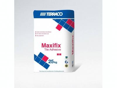Terraco Maxifix Белый - Клей для плитки 25 кг