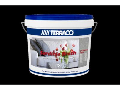 Terraco Sardinia Brush - Декоративное покрытие с песчаной текстурой 15кг