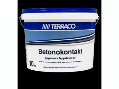 Terraco Террабонд SP Бетоноконтакт - Грунтовка для обработки  гладкого бетона