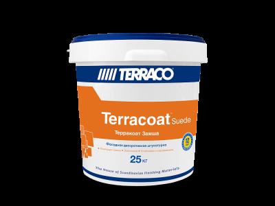 Terraco Terracoat Suide Замша (25 кг)- Бесшовное тонкослойное штукатурное покрытие на акриловой основе