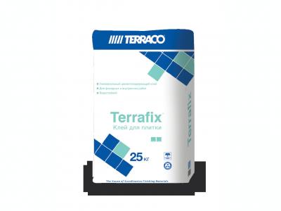 Terraco Terrafix Гранит - Быстросохнущий клеящий состав для гранитной плитки