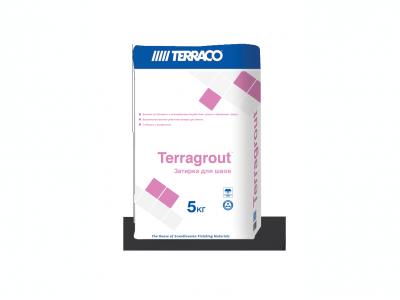 Terraco Terragrout - Водостойкая цветная затирка для межплиточных швов
