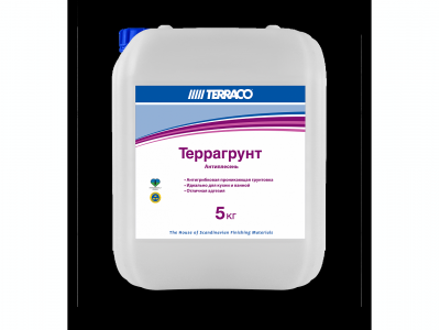 Terraco Террагрунт антиплесень - Антигрибковая проникающая грунтовка на акриловой основе