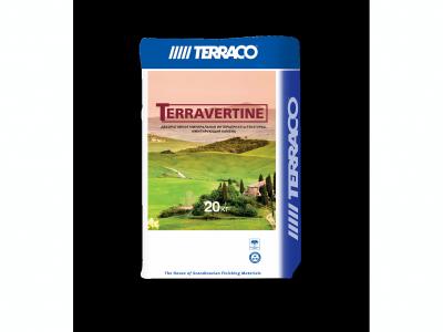 Terraco Terravertine - Натуральный штукатурный состав на основе извести для большинства внутренних поверхностей 20кг