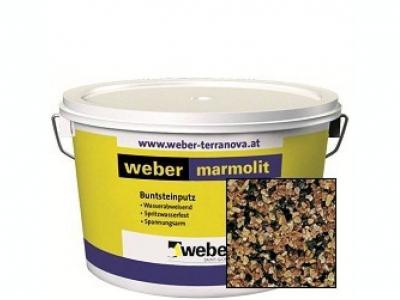 Weber.pas marmolit (25кг) - Декоративная мозаичная штукатурка
