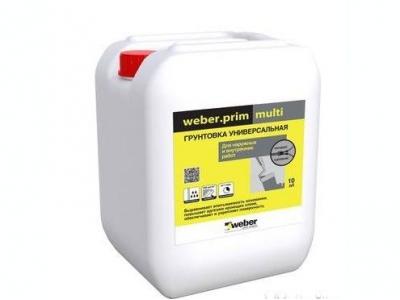 Weber.Prim multi - Акриловая грунтовка универсальная для внутренних и наружных работ