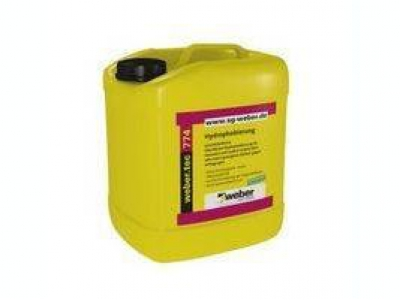 Weber.tec 774 (2,5 л) - Прозрачный водоотталкивающий концентрат на основе силоксановой микроэмульсии, не содержащий растворителей