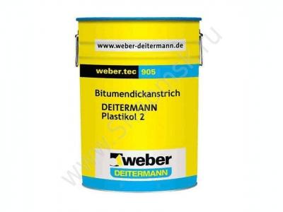Weber.tec 905  - Готовая к употреблению битумная краска