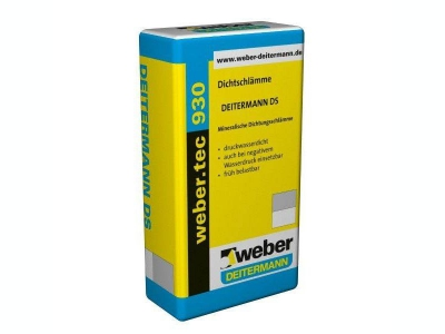 Weber.tec 930 (25 кг) - Цементный гидроизоляционный раствор