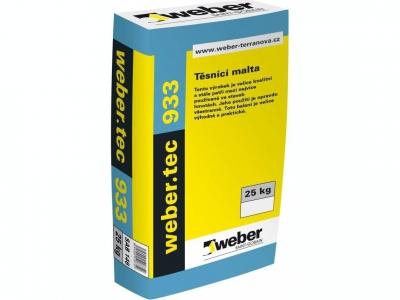 Weber.tec 933 (25 кг) - Универсальный быстросхватывающийся водонепроницаемый раствор