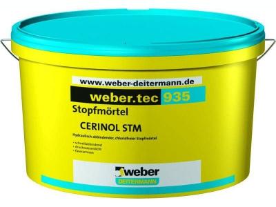 Weber.tec 935 (10 кг) - Быстросхватывающийся изолирующий раствор для остановки течей (гидропломба)
