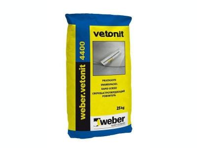 Weber.vetonit 4400 - Ровнитель для пола. Высокопрочный