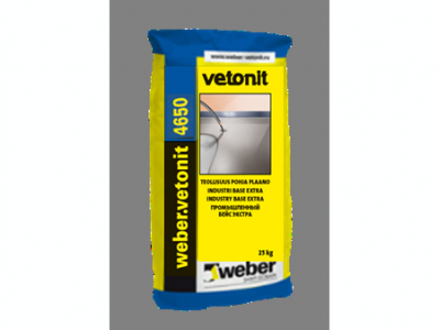 Weber.vetonit 4650 G10 (20 кг) - Промышленный цветной наливной пол. Светло-бежевый