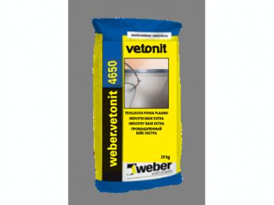 Weber.vetonit 4650 G40 (20 кг) - Промышленный цветной наливной пол. Серый