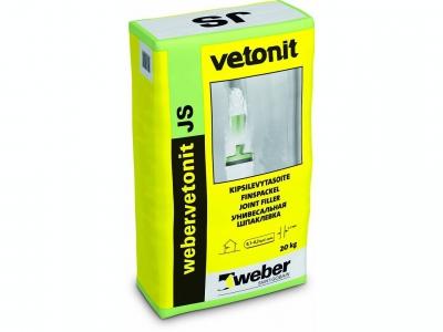 Weber.vetonit JS - Шпаклевка универасальная белая полимерная