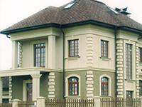 Устройство «мокрого» фасада без утепления