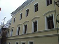 Утепление фасада утеплителем Фасад Баттс с  устройством защитно-декоративного покрытия